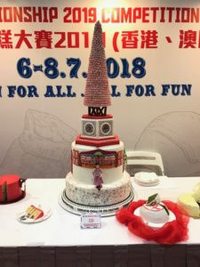 The selections of the Hong Kong: The Cake Designers World